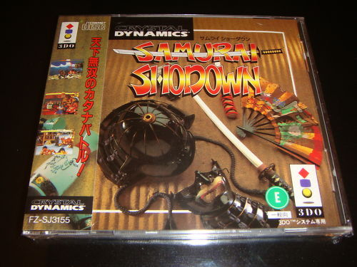 Samurai Shodown Panasonic 3DO Japan NEW